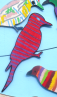 Art-Bird-stripey-woodpecker
